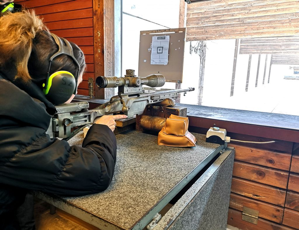 steyr pistols schiessstand
