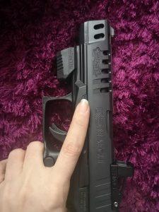 MantisX auf Pistole