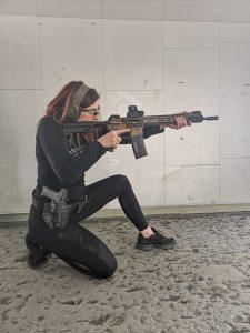 weiters schießen aus kniender position