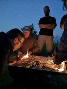 Survival Kurs Feuer machen